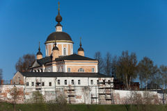 Christian cathedral in Pokrovskiy Hot'kov nunnery Royalty Free Stock Photos