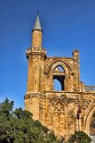Christian cathedral rebuilt in mosque, Famagusta, northern Cyprus. The Christian cathedral rebuilt in mosque, Famagusta, northern Cyprus Stock Photos