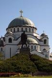 Christian cathedral Saint Sava Royalty Free Stock Photography