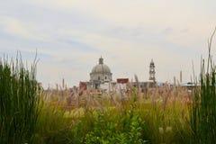 Christian Catholic church in Puebla, Mexico Royalty Free Stock Image