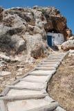 Christian Cave church of Agioi Saranta in  Cyprus Royalty Free Stock Photography