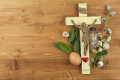 The Christian celebration of Easter. Royalty Free Stock Images