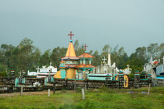 Christian Cemetery, Vietnam, Travel, Asia stock images