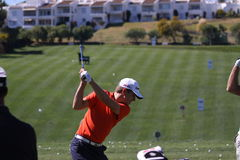 Christian Cevaer at Andalucia Golf Open, Marbella Stock Image