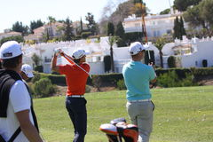 Christian Cevaer at Andalucia Golf Open, Marbella Stock Photo