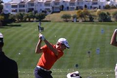 Christian Cevaer bij Andalucia Open Golf, Marbella Stock Afbeelding