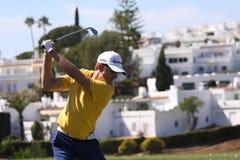 Christian Cevaer bij Andalucia Open Golf, Marbella Stock Fotografie