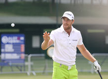 Christian Cevaer at Golf Open de France. Albatros Golf Course, Paris, France,  July 01 Stock Image