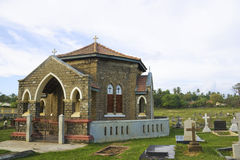 Christian Chapel and Cemetary, Galle, Sri Lanka Stock Photos