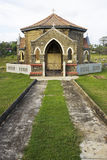 Christian Chapel and Cemetary, Galle, Sri Lanka. Image of a Dutch era Christian chapel and cemetary at Galle, Sri Lanka Royalty Free Stock Photo