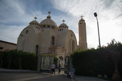 Christian Chirch in Egypt Stock Photos