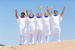 Christian chruch choir Royalty Free Stock Photography