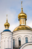 Christian church in Сhebarkul, Russia Royalty Free Stock Photo