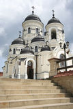 Christian church. From the Capriana monastery in Moldova Stock Photos