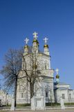 Christian church. Christian orthodox church in Russia Royalty Free Stock Images