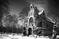 Christian church. Photo of shrine or sort of Christian church Royalty Free Stock Photos