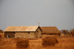 Christian church in africa Royalty Free Stock Photos