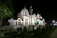 Christian church Armavir Russia Stock Photography