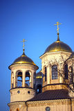 Christian church of the Ascension in Zvenigorod Stock Images