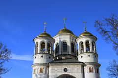 Christian church of the Ascension in Zvenigorod Royalty Free Stock Photography