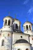 Christian church of the Ascension in Zvenigorod Stock Photos