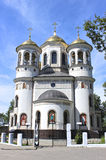 Christian church of the Ascension in Zvenigorod (Russia) Royalty Free Stock Photography