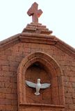 Christian church in Baga, India Stock Images