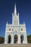 Christian Church bianco Fotografie Stock Libere da Diritti