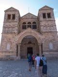 Christian church on biblical Mount Tabor, Galilee Royalty Free Stock Photo