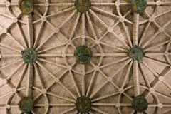 Christian church ceiling stock images