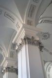 Christian church column stock image