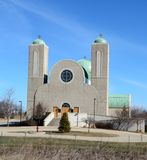Christian Church copto Immagine Stock Libera da Diritti