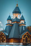 Christian Church di legno Immagini Stock Libere da Diritti
