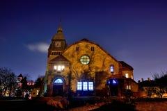 Christian Church di Qingdao, Cina Fotografia Stock