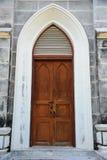 Christian Church Door Fotografie Stock Libere da Diritti
