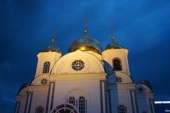 Christian Church gegen den Abendhimmel Stockfoto