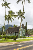 Christian church in Hawaii Royalty Free Stock Photo