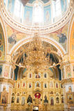 Christian church. Inside the Christian church. Ufa. Russian Federation royalty free stock photo