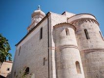 Christian church, Krk, Croatia Stock Photos
