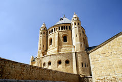 The Christian church, landmark in Jerusalem, Israel Stock Images