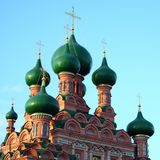 The Christian church in Moscow. Russia Stock Photos