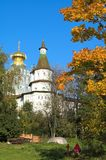 Christian church in New Jerusalem near Istra. Moscow region, Russia Stock Photo