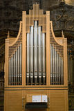 Organ Christian church sound pipe Stock Photography