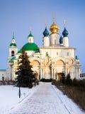 Christian church in Rostov, Russia Stock Photos