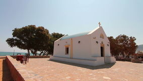 Christian Church by the sea stock video