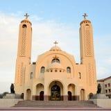 Christian Church in Sharm el Sheikh Stock Image