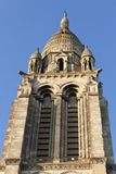 Christian church spire royalty free stock images
