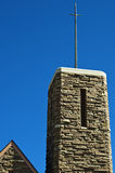 Christian church steeple Stock Image