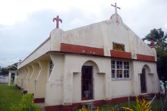 Christian church at Tonga. Christian church at Kingdom of Tonga, Lifuka Island Royalty Free Stock Photos