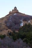 Christian Church on top of a mountain Stock Photo
